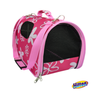 Hilton transporter różowy dla psa lub kota