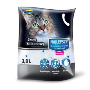 Hilton silicagel cat litter