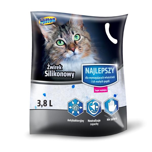Hilton żwirek silikonowy dla kota