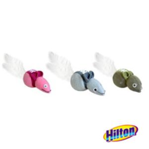Hilton myszki zabawki dla kotów