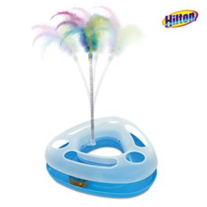 Hilton push and play niebieska zabawka dla kota