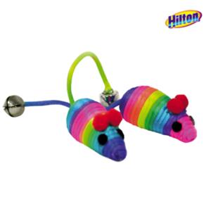 Hilton myszki ze sznurka zabawka dla kota