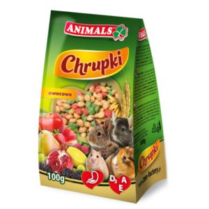 Animals chrupki owocowe dla gryzoni