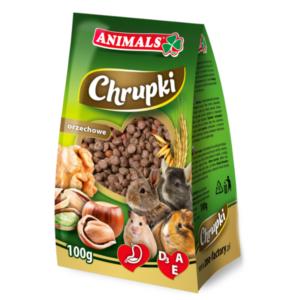 Animals chrupki orzechowe dla gryzoni