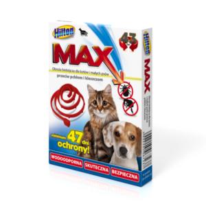Hilton Max obroża przeciw pchłom i kleszczom dla psa lub kota