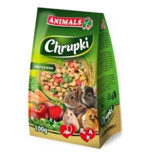 Animals vegetable chrunchy for rodents