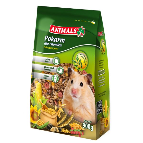 Animals food for hamster 900g