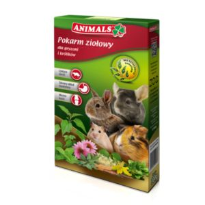 Animals herbal food for rodents