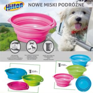 HILTON miski podróżne dla psów i kotów